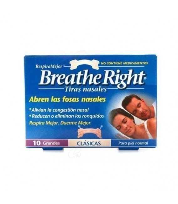 Tira Nasal Pequeña Normal 10 Un Breathe Right