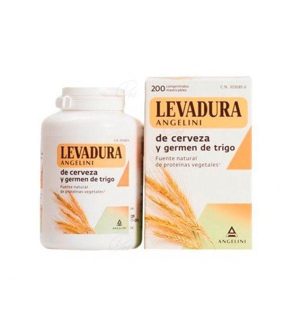 Levadura De Cerveza Germen Leo 180 Comp