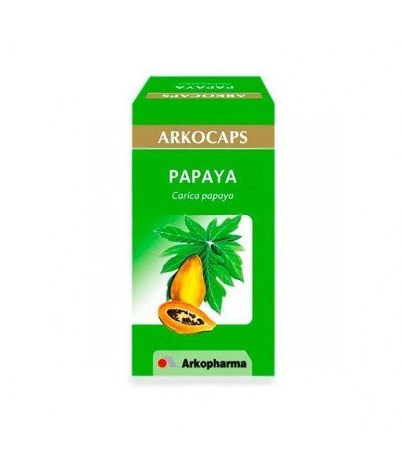 Papaya 50 Capsulas Arko