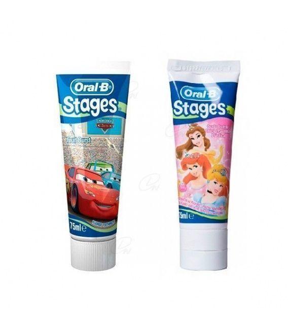 Oral-b Pasta Dental Disney 75 Ml.