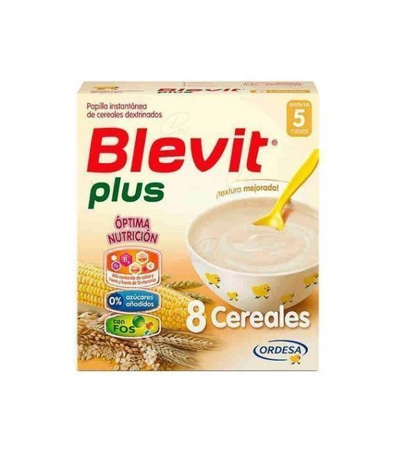 Papillas - Blevit Plus 8 Cereales 600 Gr