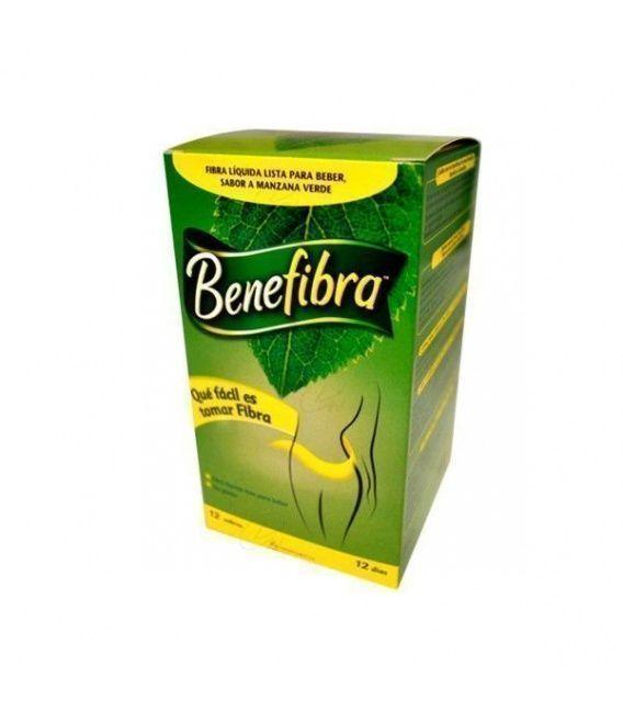 Benefibra Fibra Soluble Liquido 12 Sobres 60 Ml