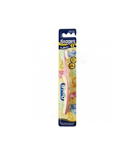 Cepillo Oral B Stages 1 - (4 A 24 Meses)