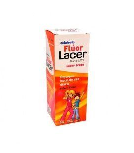 Lacer Fluor Diario 0,05% Fresa 500 Ml