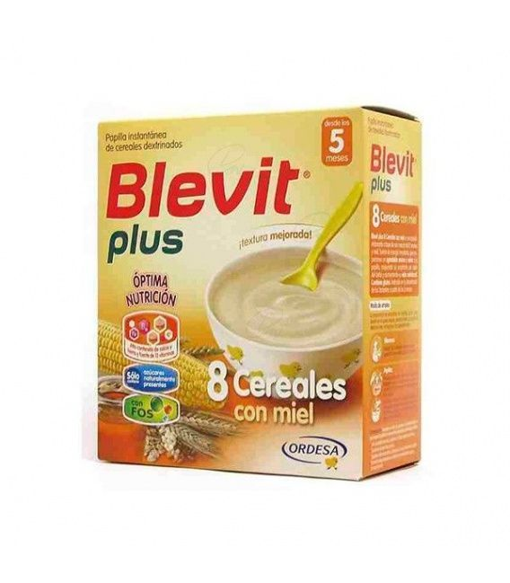 Papillas - Blevit Plus 8 Cereales Miel 700 Gr