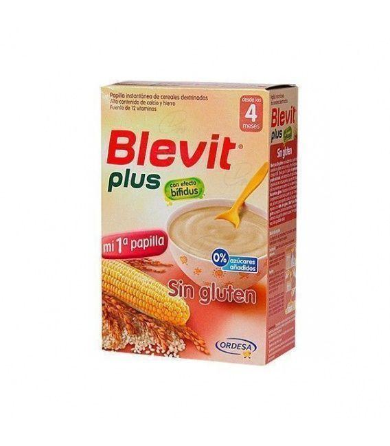 Papillas - Blevit Plus Sin Gluten 600 Gr