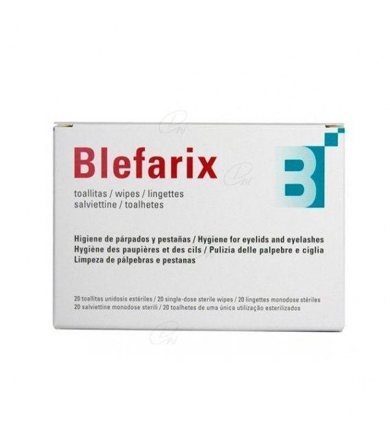 BLEFARIX TOALLITAS 20 SOBRES 2,5 ML