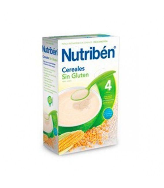 Papillas - Nutriben Cereales Sin Gluteb 600 Gr
