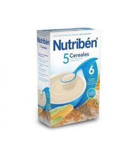 Papillas - Nutriben 5 Cereales 600 Gr