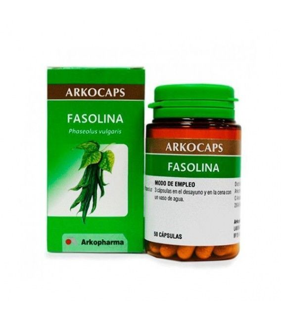 Fasolina 50 Capsulas Vaina Judia Arko