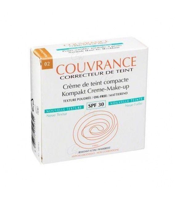 Couvrance Crema Compacta Oil Free 9.5 G. N