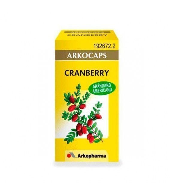 Arkocapsulas Cranberry Arandano Rojo 45