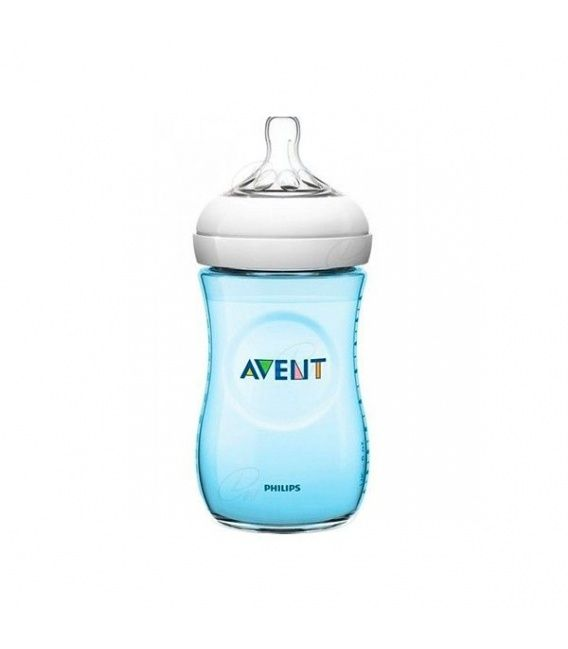 Biberon Pp Natural Philips Avent 330 Ml Azul
