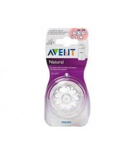 AVENT TETINA NATURAL FLUJO VARIABLE +3 M SCF 655/ 27