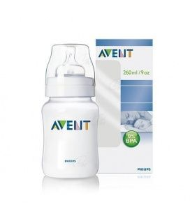 AVENT BIBERON PP NATURAL 260 ML