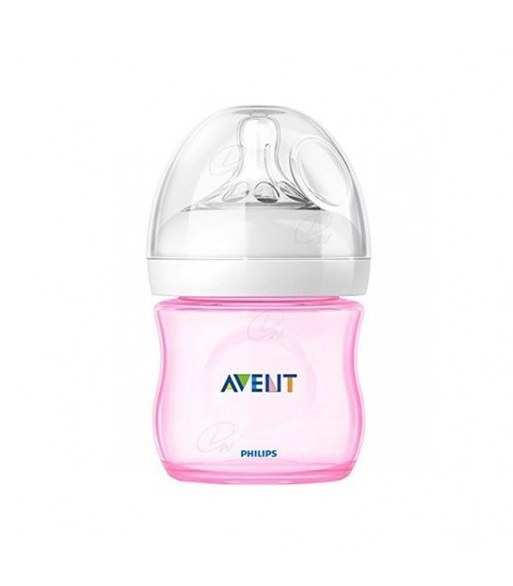 Biberon Pp Natural Avent Philips Rosa 125 Ml
