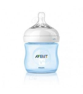 AVENT BIBERON PP NATURAL 125 ML AZUL