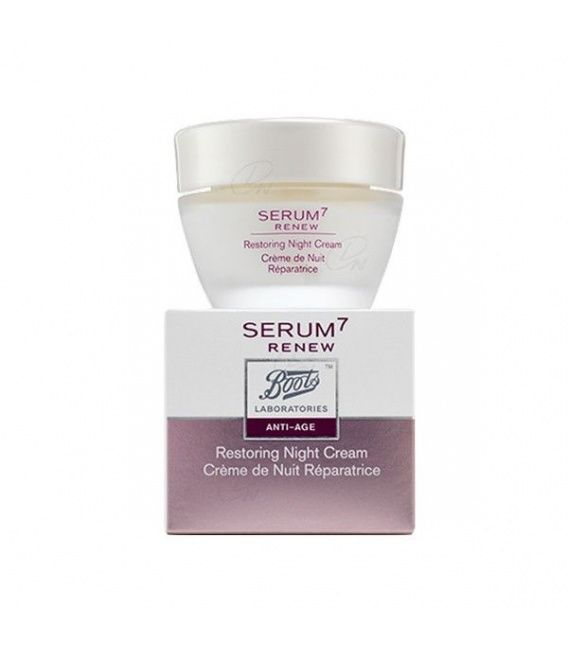 Boots Serum7 Renew Crema Noche 50ml