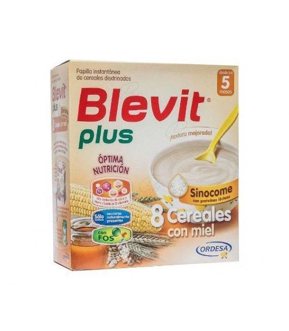 Blevit Plus Duplo 8 Cereales Bizcocho Y Naranja
