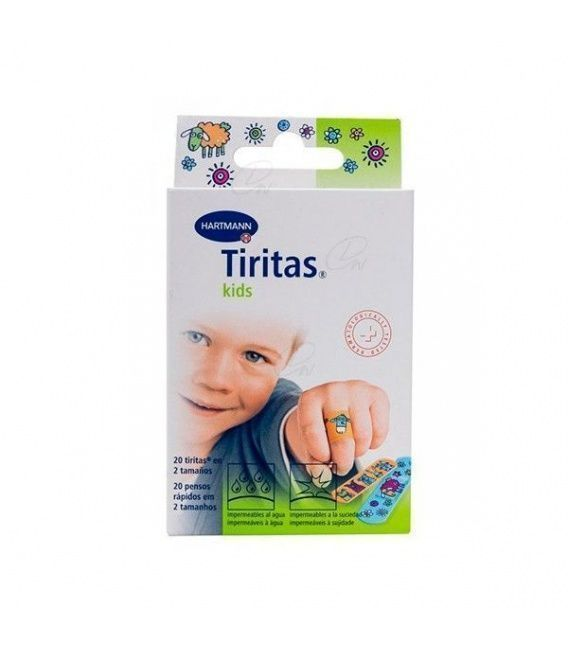 TIRITAS KIDS 20 UNIDADES 2 TAMAÑOS