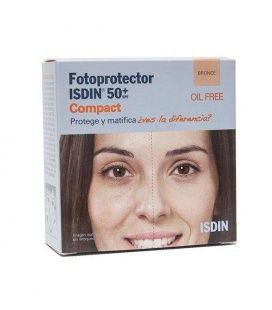 Fotoprotector Isdin Extrem Uva Maquillaje Compacto 10g