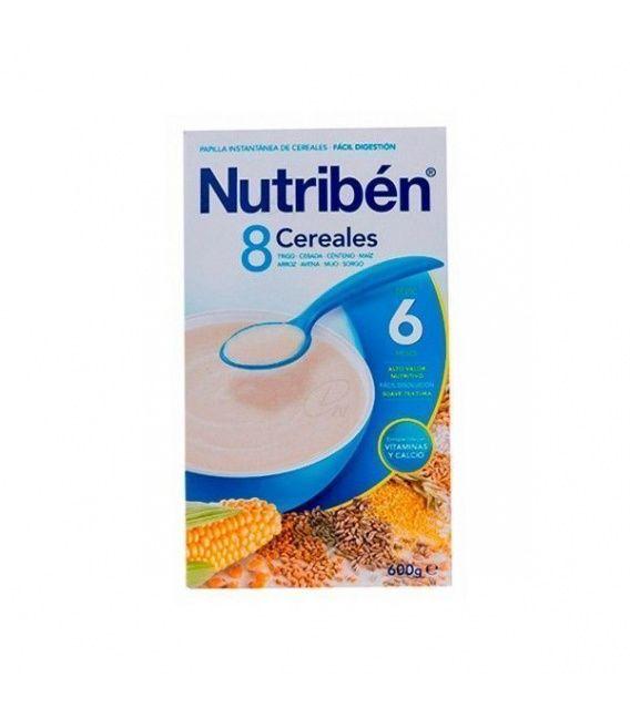 Papillas - Nutriben 8 Cereales 600 G