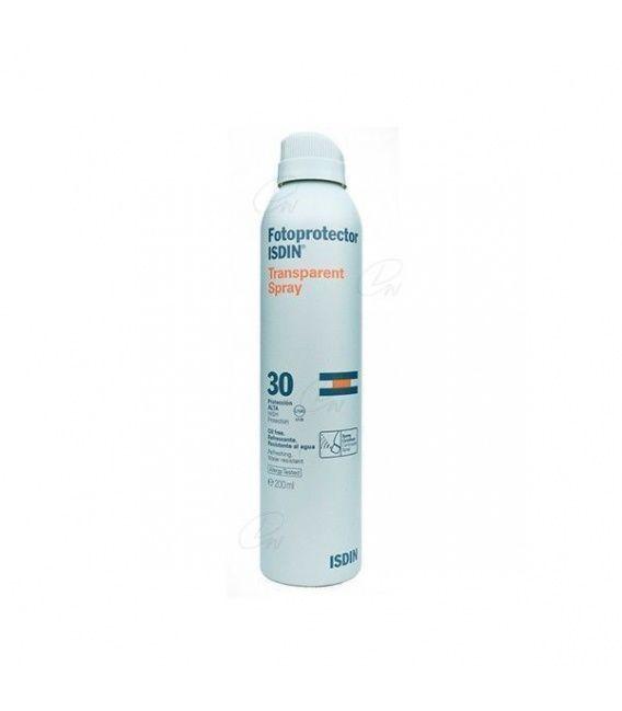 Fotoprotector Isdin Spf-30 Trasparente Spray 200