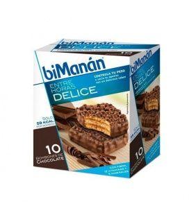 BIMANAN ENTRE HORAS BOMBON CRUJIENTE CHOCOLATE 10 U