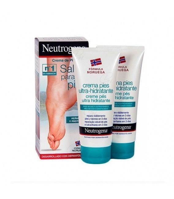 Neutrogena Pies Crema Ultrahidratante 100 Ml+100