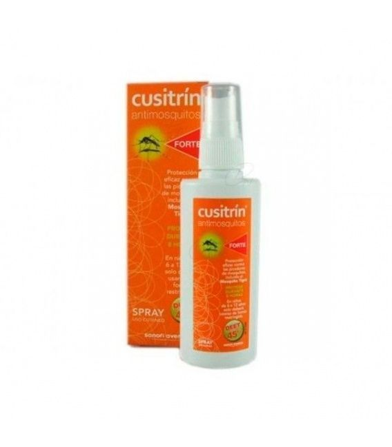 Cusitrin Antimosquitos Forte Repelente 75 Ml Spr