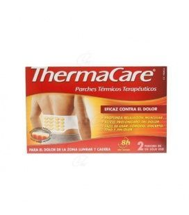 Thermacare Zona Lumbar Y Cadera Parches 2u