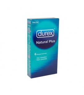 DUREX NATURAL EASY ON 6 UNIDADES