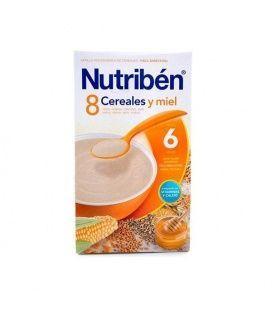 Papillas - Nutriben 8 Cereales Miel 300 Gr