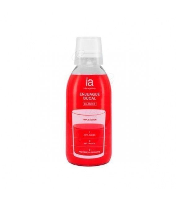 INTERAPOTHEK ENJUAGUE BUCAL TRIPLE ACCION 250 ML