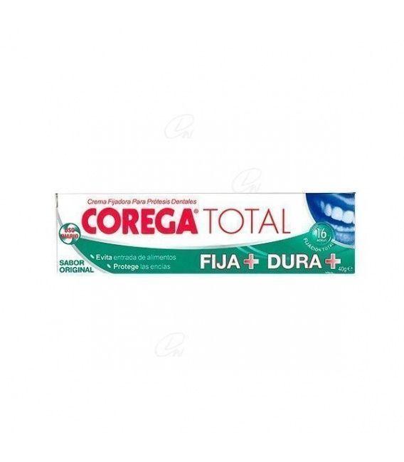 Corega Accion Total Crema Fijadora Adhesivo Prot
