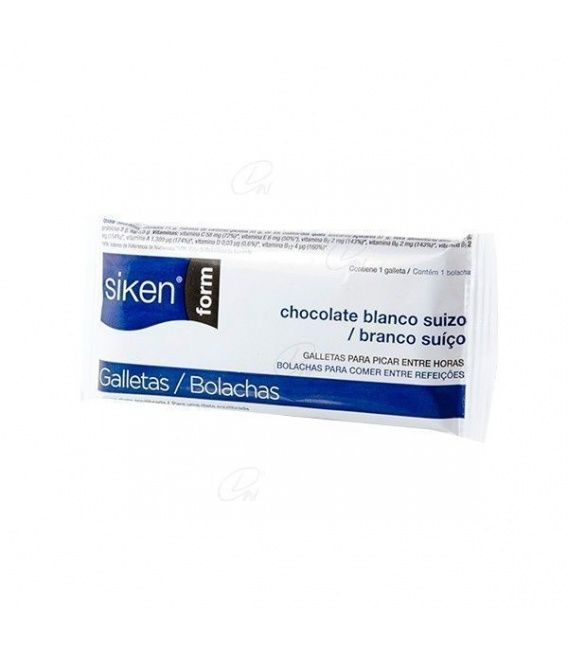 Siken Form Galleta Chocolate Blanco 25 G 1 Galle