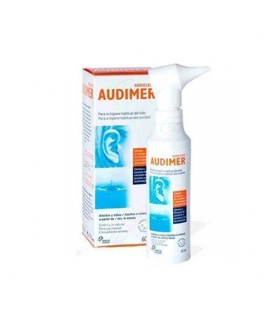 Audimer Solucion Limpieza Oidos 60 Ml