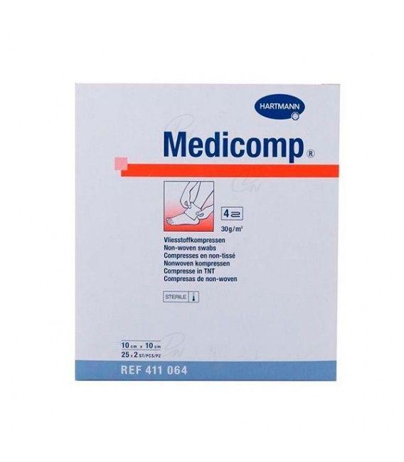 Hartman - Medicomp. Gasa Esteril 10x10