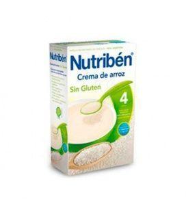 Papillas - Nutriben Crema De Arroz 300 Gr