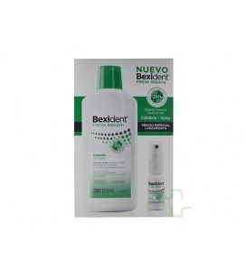 PACK BEXIDENT FRESH COLUTORIO+SPRAY