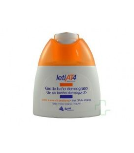 Leti At-4 Gel De Baño Dermograso 100 Ml
