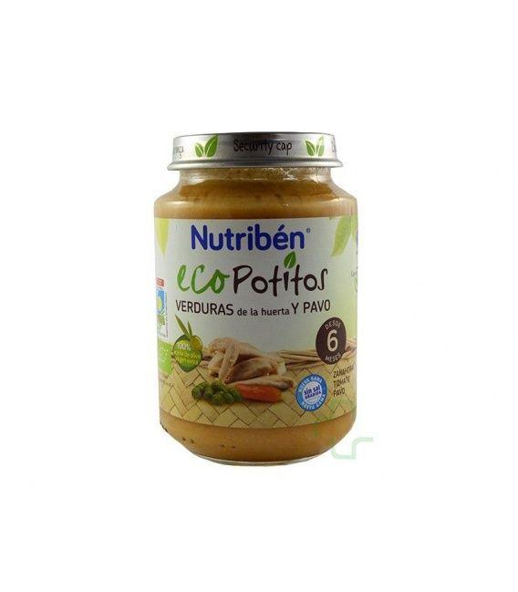 NUTRIBEN ECO SELECCION VERDURAS DE LA HUERTA C/ PAVO