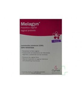 Melagyn Probiotico Vaginal 7 Comprimidos Vaginal