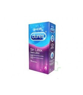 Durex Sin Latex Preservativos 12 U