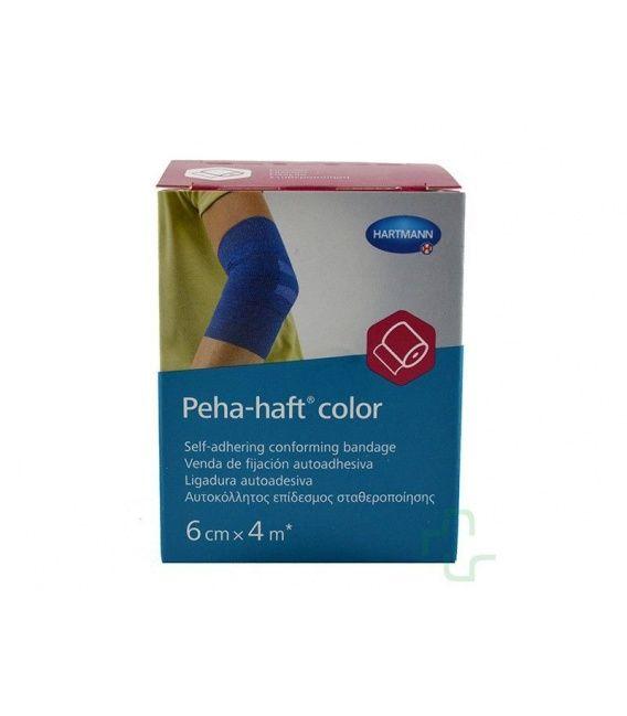 PEHA-HAFT COLOR AZUL 6CM X 4M