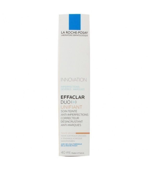 EFFACLAR DUO UNIFIANT LIGHT LA ROCHE POSAY 40ML