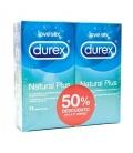 Durex Naturals Duplo Plus Preservativos 12 Unid
