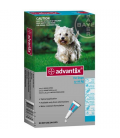 Advantix 4x1ml Perros (4-10kg)