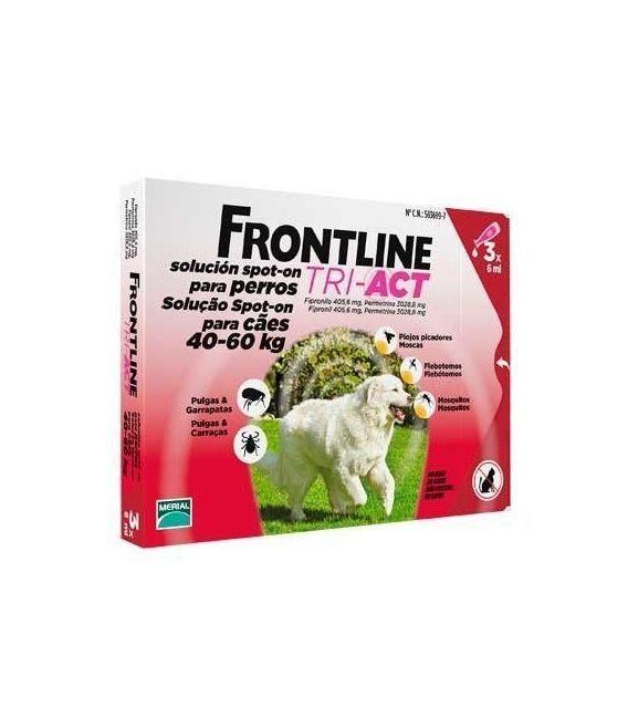 FRONTLINE TRI-ACT 40-60KG 3 PIPETAS
