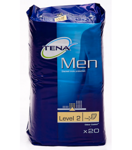TENA MEN LEVEL 2 20 U ABSORB INC ORINA LIGERA
